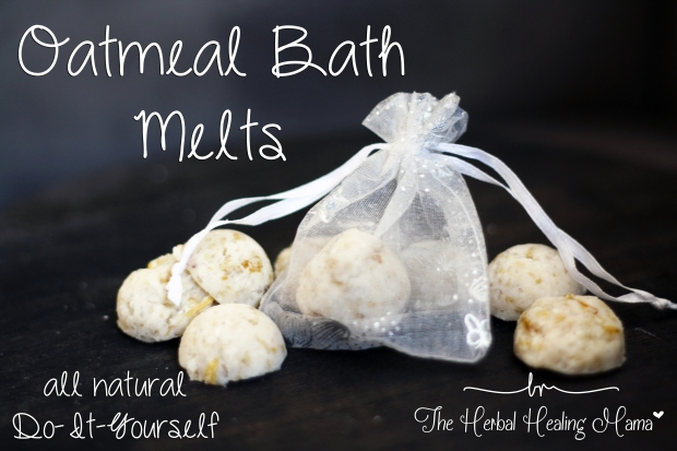 Oatmeal Bath Melts ~ DIY