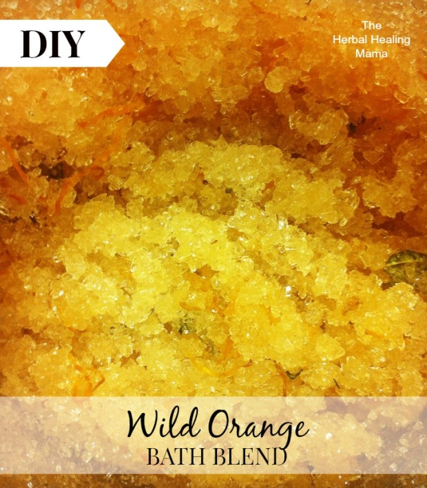 Wild Orange Bath Blend DIY