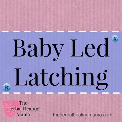 baby led latching