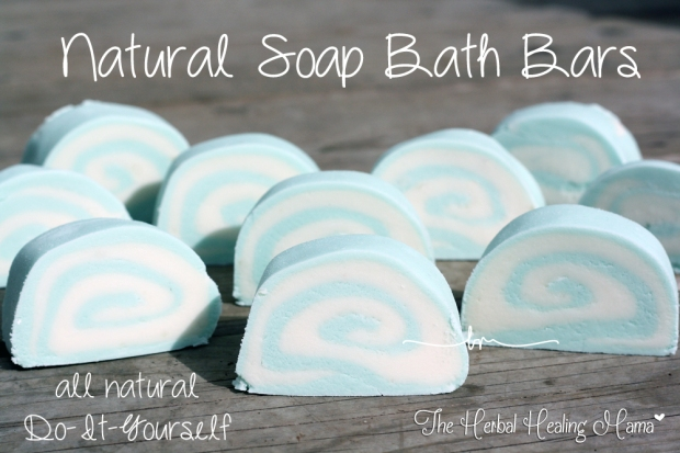 Natural Soap Bath Bars - All Natural - DIY