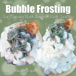 Bubble Frosting - All Natural DIY