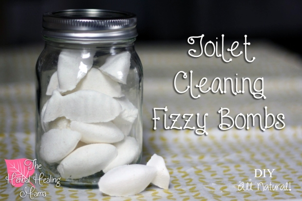 Diy Toilet Cleaning Fizzy Bombs The Herbal Healing Mama
