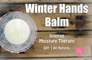 Winter Hand Balm - Intense Moisture Therapy