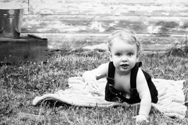 Draevyn Dean's 1st birthday
