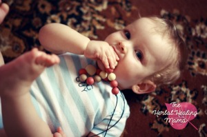 The Chewelery Box Teething Necklace