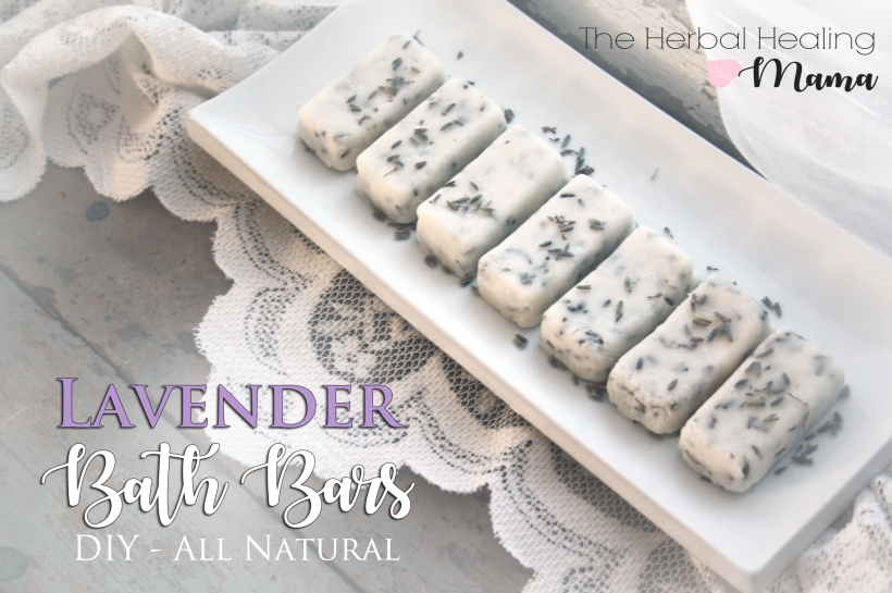 Natural Lavender Bath Bars - DIY