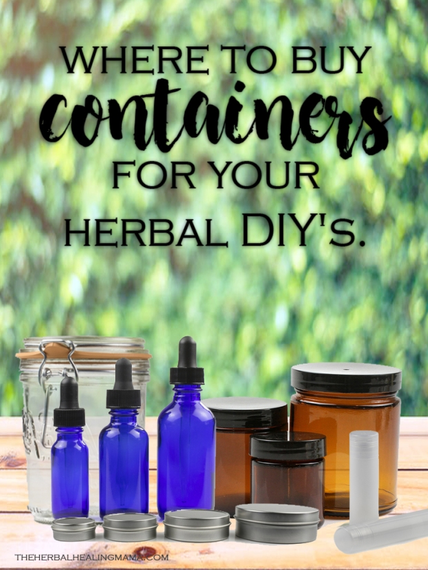 Where to buy Containers for your natural DIY's